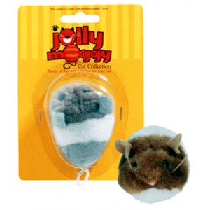(Jolly Moggy) Vibromouse (Assorted Colours)