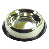 (Rosewood) Stainless Steel Non-Slip Bowl 6.5inch