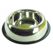 (Rosewood) Stainless Steel Non-Slip Bowl 7inch