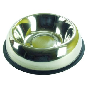 (Rosewood) Stainless Steel Non-Slip Bowl 8.5inch
