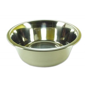 (Rosewood) Deluxe Stainless Steel Bowl 8inch