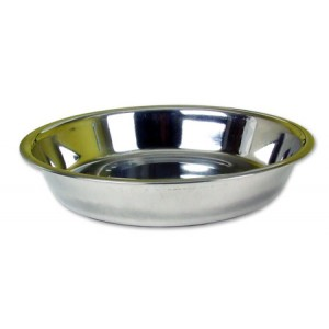 (Rosewood) Stainless Steel Shallow Puppy Pan 8inch