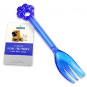 (Rosewood) Cutlery For Hungry Cats & Dogs (Fork) (Assorted Colours)
