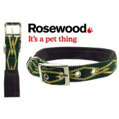 (Designer) Soft Protection Dog Collar 22 inch x 1 inch (Green Scout)