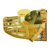 (The Company Of Animals) Baskerville Deluxe Dog Muzzle (Size 4)