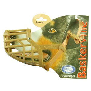 (The Company Of Animals) Baskerville Deluxe Dog Muzzle (Size 5)