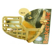 (The Company Of Animals) Baskerville Deluxe Dog Muzzle (Size 6)