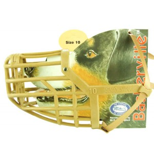 (The Company Of Animals) Baskerville Deluxe Dog Muzzle (Size 10)