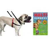 (HALTI)  Dog Harness  (Medium) + Free Training Guide