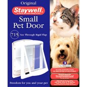 (Staywell) Original Pet Door (Small) (White) (715 EF)