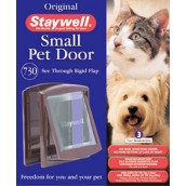 (Staywell) Original Pet Door (Small) (Brown) (730 EFS)