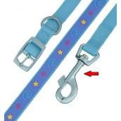 (HI-CRAFT) Superstar  Dog Lead 40 inch x 0.5 inch (Blue)