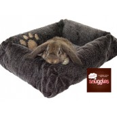 (Boredom Breaker) Snuggles Luxury Plush Small Animal Bed