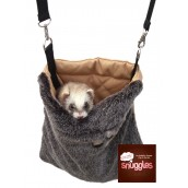 (Boredom Breaker) Snuggles Small Animal Snoozing & Carrying Bag