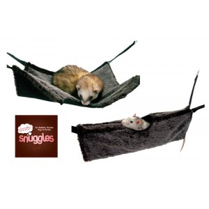 (Boredom Breaker) Snuggles Small Animal 2in1 Hanging Tunnel & Hammock