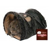 (Boredom Breaker) Snuggles Small Animal Reversible Snuggle Tunnel