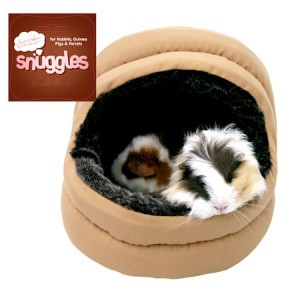 (Boredom Breaker) Snuggles Small Animal Plush 2-Way Hooded Bed