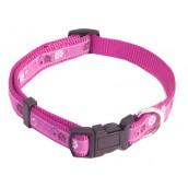 (Wag'n'Walk) Walk-Time Dusky Floral Adjustable Dog Collar (Small)
