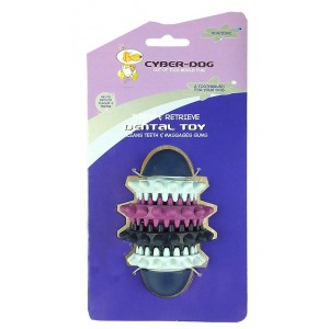(CYBER-DOG) Throw & Retrieve Dental Toy (Small)