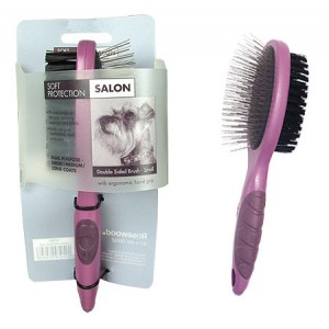 (Soft Protection) Salon Double Sided Brush (Small)