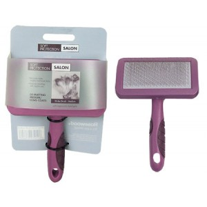 (Soft Protection) Salon Slicker Brush (Medium)