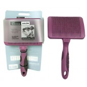 (Soft Protection) Salon Self-Cleaning Slicker Brush (Large)