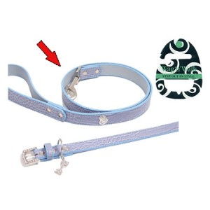 (Wag'n'Walk) Designer Blue Mock Croc Dog Lead