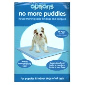 (Options) Puppy Pads 22 inch X 22 inch (Pack of 14)