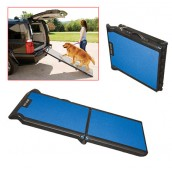 (Pet Gear) Tri-Fold Pet Ramp (Black/Grey)