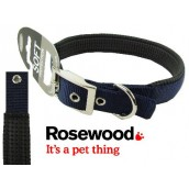 (Classic) Soft Protection Dog Collar 16 x 5/8inch (Navy)