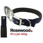 (Classic) Soft Protection Dog Collar 18 x 3/4inch (Navy)