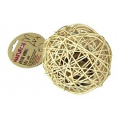 (Boredom Breakers) NATURALS Rattan Wobble Ball (Large)