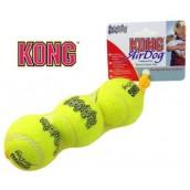 KONG AirDog Interactive Tennis Fetch Toy Small 3pk