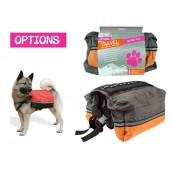 (Options Travel) Dog Back Pack (Large)