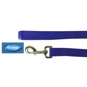 (Armitage Pet Care) Nylon Lead 3/4 x 40inch Medium (Blue)