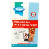 (Armitage Pet Care) Flea & Tick Drops For Dogs and Puppies (Small)
