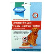 (Armitage Pet Care) Flea & Tick Drops For Dogs (Large)