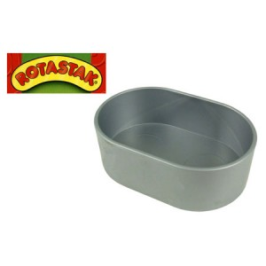 (ROTASTAK) Accessories Plastic Feeding Bowl Oval
