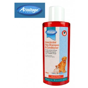 (Armitage Pet Care) Insecticidal Flea Dog Shampoo & Conditioner 250ml