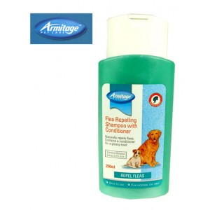 (Armitage Pet Care) Flea Repelling Dog Shampoo with Conditioner 250ml