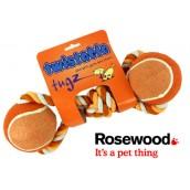 (twistable) tugz Twin Ball Tug 4inch Orange