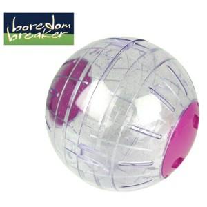 (Boredom Breaker) Small Animal Glitter Exercise Ball