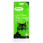 (Armitage Pet care) Cat Litter Tray Liners (Large) 6 Pack
