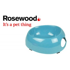 (Feed-Time) Deluxe Melamine Dog Bowl Large 9inch Blue