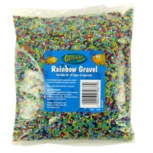 (GUSSIE) Goldfish Rainbow Gravel