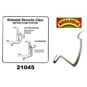 (ROTASTAK) Accessories Security Clip Small (21045)