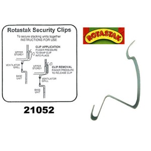 (ROTASTAK) Accessories Security Clip Large (6 Pack) (21053)