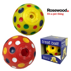 (Rosewood) Cheese Treat Ball (Medium) (Assorted Colours)