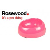(Feed-Time) Deluxe Melamine Dog Bowl Small 6inch Pink