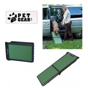 (Pet Gear) Travel Lite Bi-Fold Ramp (Black/Sage)